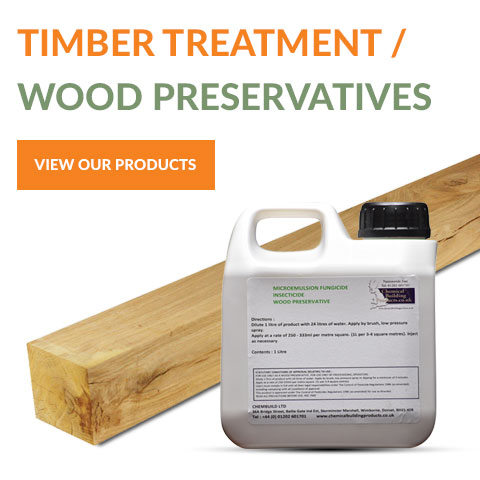 Timber treatment products from Chembuild