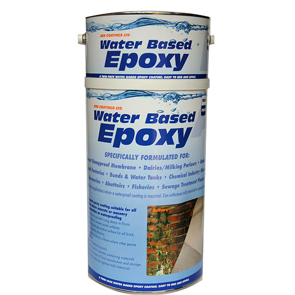 Waterproof Epoxy Floor & Wall Paint 5L