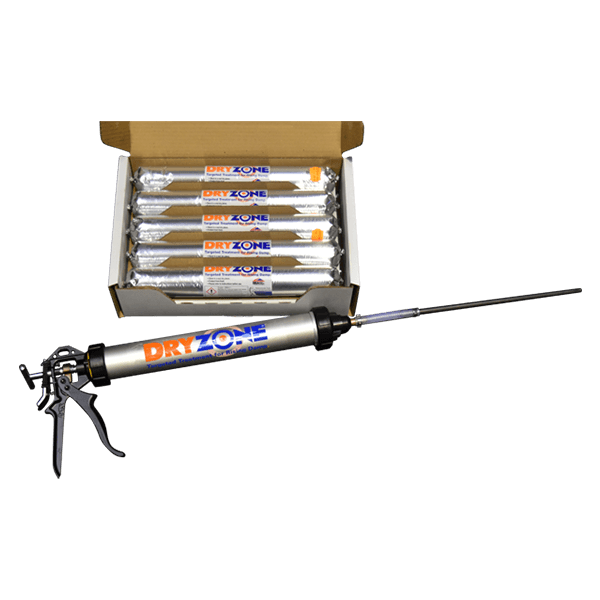 10 x 600ml Dryzone Cartridges + Application Gun