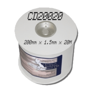 Cavity Drainage Membrane CD200  Overseal Tape 200mm x 20m roll