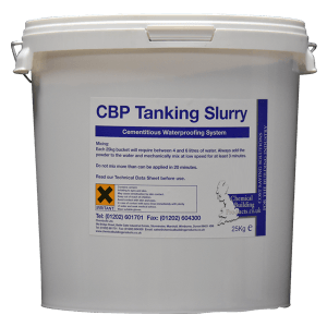 Tanking Slurry Products / CBP Structural Waterproofing System